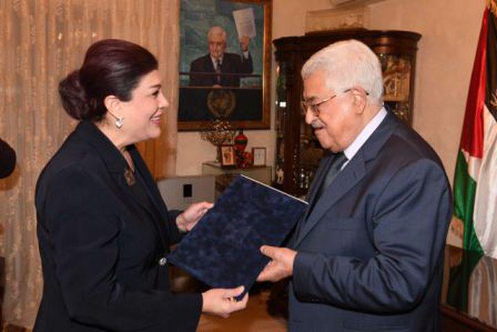 صفية السهيل سفيرة العراق في فلسطين