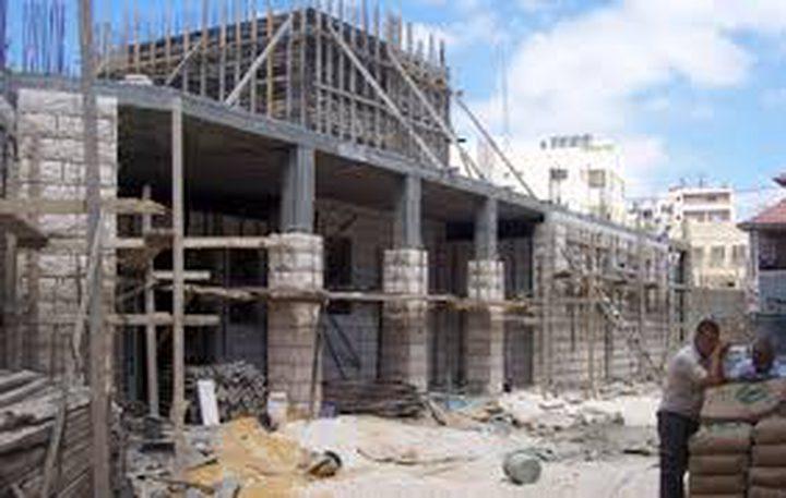 ارتفاع الرقم القياسي لأسعار تكاليف البناء في الضفة خلال العام 2016