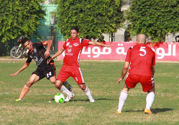 اشتعال المنافسة في القمة والقاع في دوري غزة الممتاز