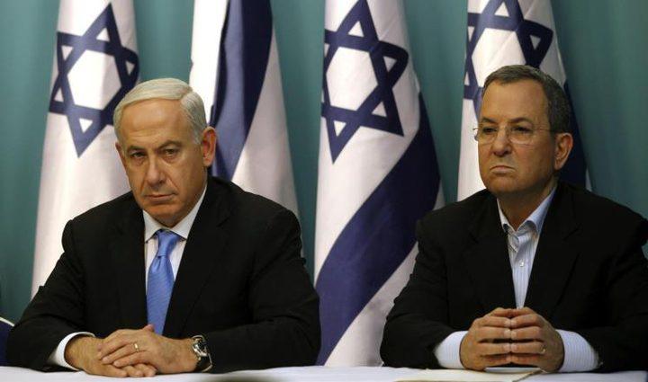 """إيهود باراك: نتنياهو يحول """"إسرائيل"""" إلى دولة أبارتهايد"""