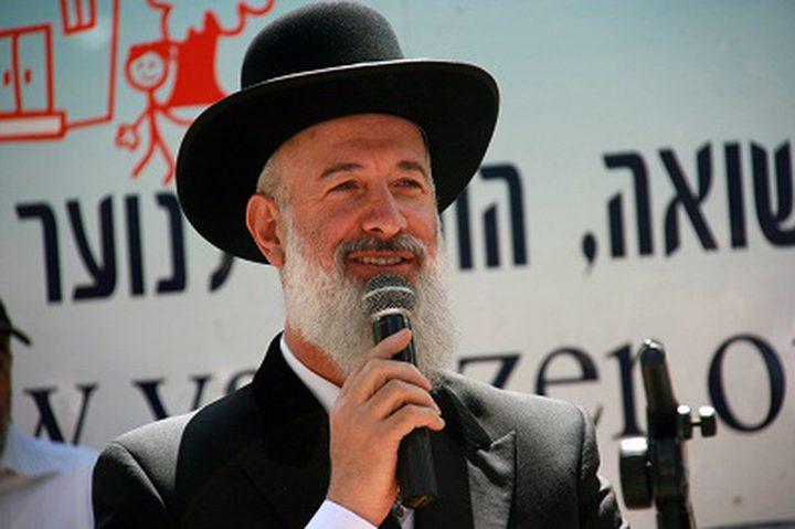 السجن للحاخام الإسرائيلي الأكبر السابق واتهامات ضد نتنياهو