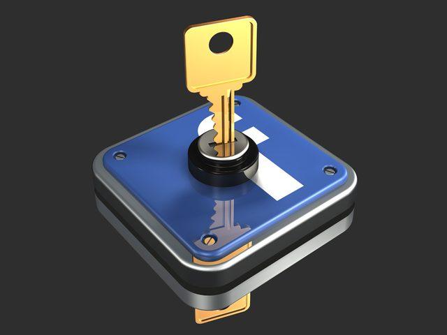 """مفتاح لحماية حسابك على """"فيس بوك"""""""