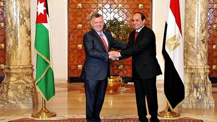 القضية الفلسطينية أحد محاور لقاءات الأردن ومصر مع الإدارة الأمريكية
