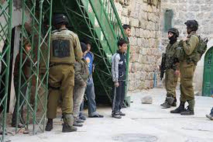 اعتقال تسعة مواطنين في الضفة