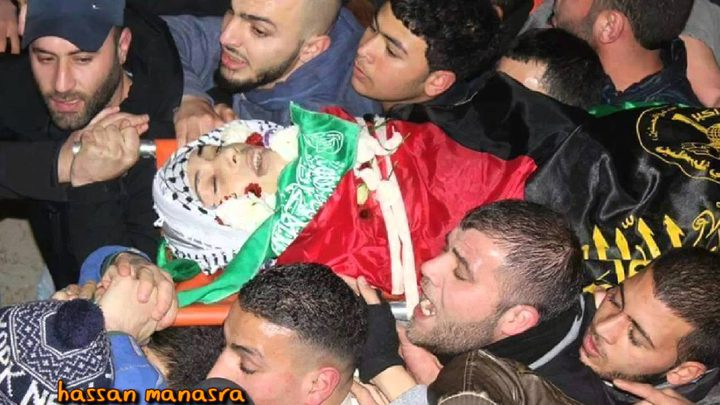 تشيع جثمان الشهيد أبو غوش