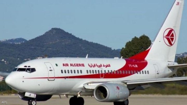 طائرة جزائرية على متنها 64 شخصا تتعرض لحادث