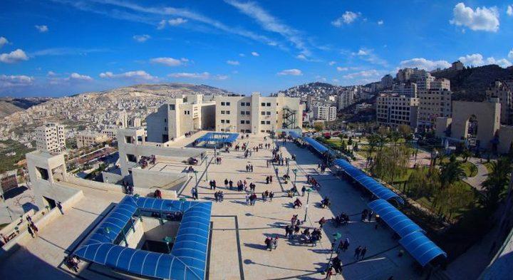 """جامعة النجاح الأولى فلسطينيًا في تصنيف """"الويبومتركس""""(انفوغرافيك)"""