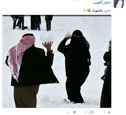 فيديو وصور.. ثلج الإمارات يلطف أجواء مواقع التواصل الإجتماعي