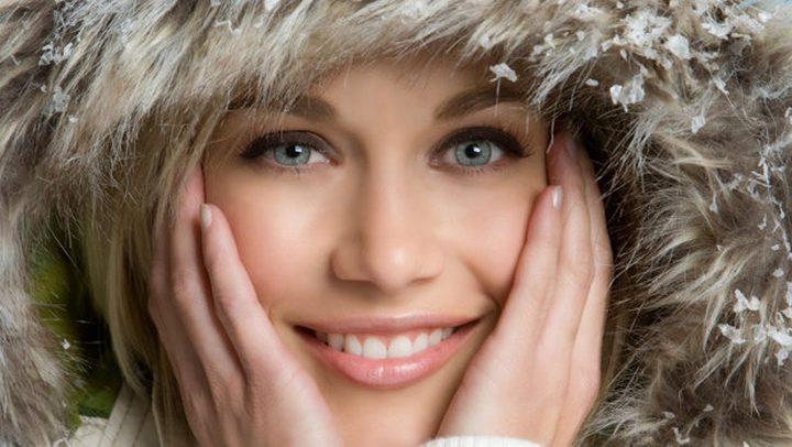 العناية ببشرتك في الشتاء