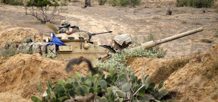 الجيش المصري يقتل 14 مسلحا في سيناء