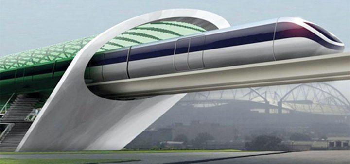 قطار فائق السرعة يصل دبي بالفجيرة في عشر دقائق
