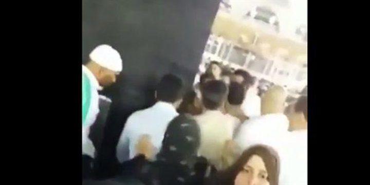 """""""أمن المسجد الحرام"""" يوضح حقيقة محاولة احراق ستار الكعبة (فيديو)"""