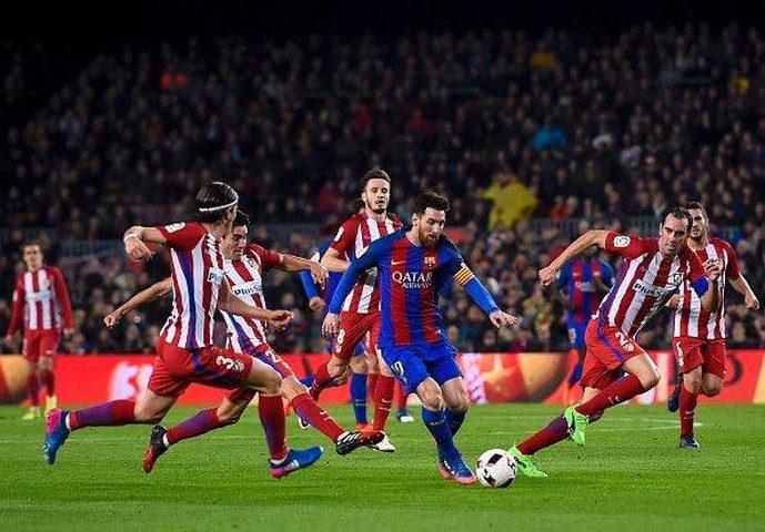 برشلونة يجتاز اتلتيكو ويصل نهائي الكأس