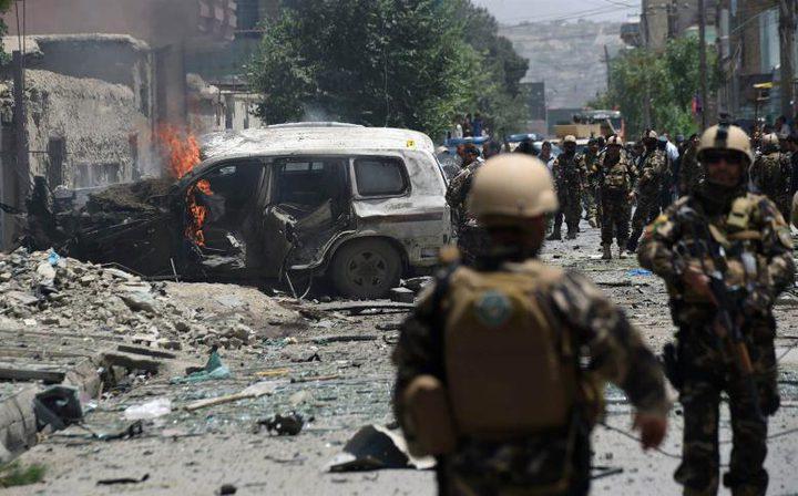 كابول: 20 قتيلا في تفجير انتحاري