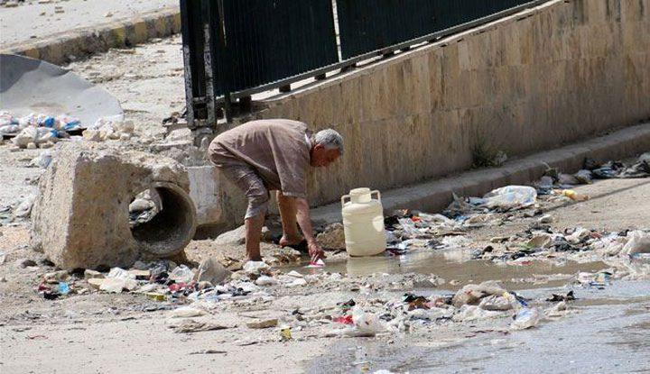 انقطاع امدادات المياه عن 1.8 مليون شخص في حلب