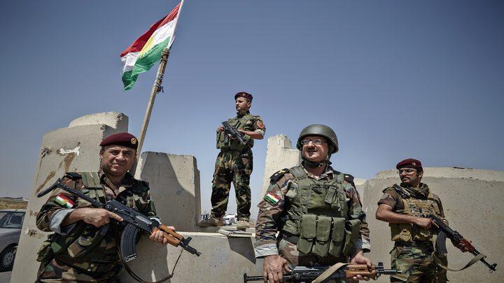 البشمركة تشكل أول لواء عربي