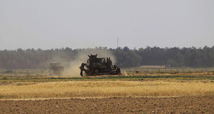 آليات الاحتلال تتوغل شمال بيت حانون