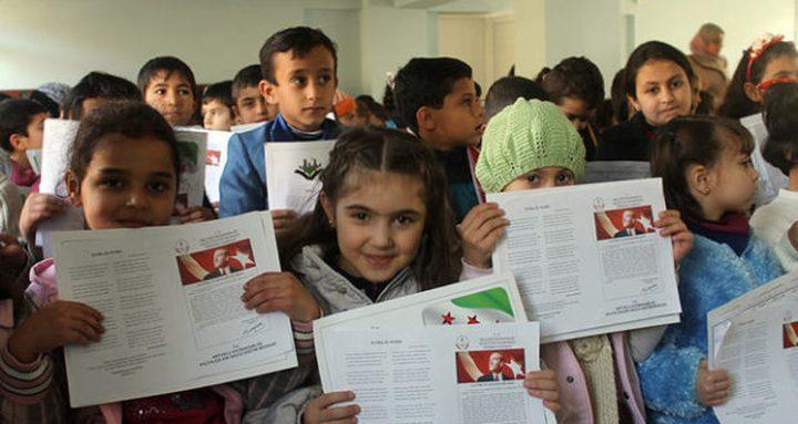 """""""الأونروا"""" تدعم تعليم الطفولة المبكرة في المخيمات الفلسطينية"""