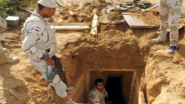 الجيش المصري يدمر ستة أنفاق على حدود غزة