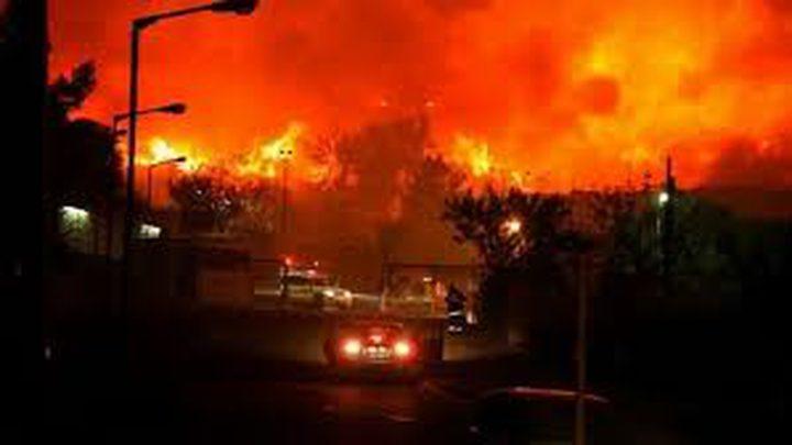 الكنيست يناقش اليوم طلب التحقيق بحرائق الكيان