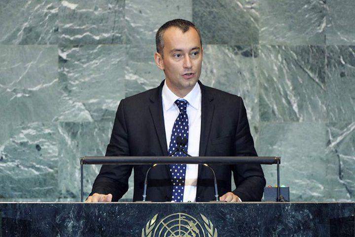 ممثل الأمم المتحدة: إسرائيل تمهد لضم كافة الضفة الغربية