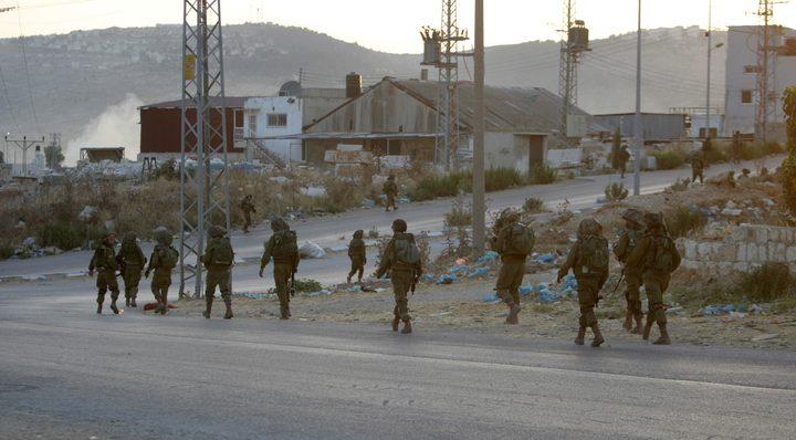 قوات الاحتلال تقتحم بلدة العيزرية