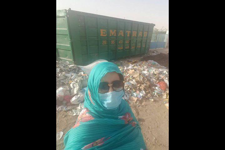 """""""سيلفي"""" مع القمامة في موريتانيا"""