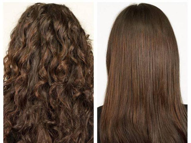 أضرار الكيراتين لفرد الشعر