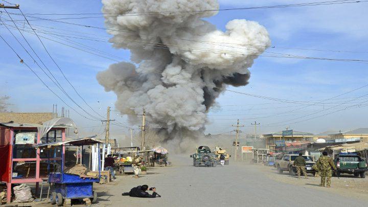 """افغانستان ..  قتلى بتفجر انتحاري بـ""""هلمند"""""""