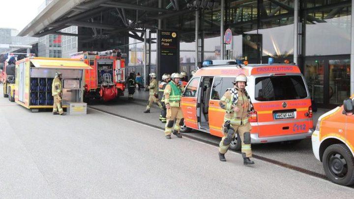 إصابة أكثر من 50 شخصا إثر تسرب مادة مجهولة في مطار هامبورغ