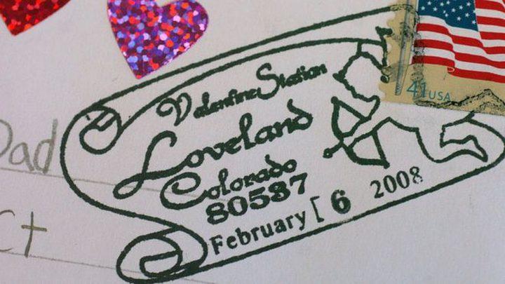 كولورادو ذات طوابع بريدية رومانسية