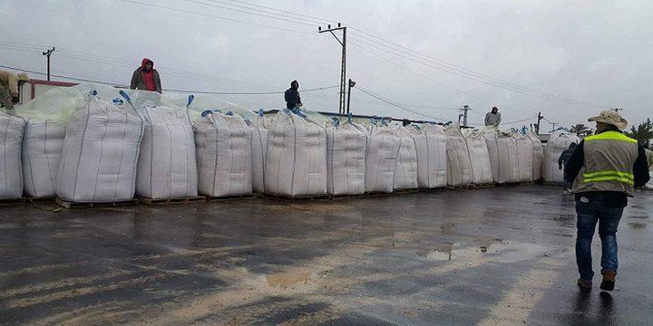 سابقة ..  إدخال قمح لغزة عبر مصر