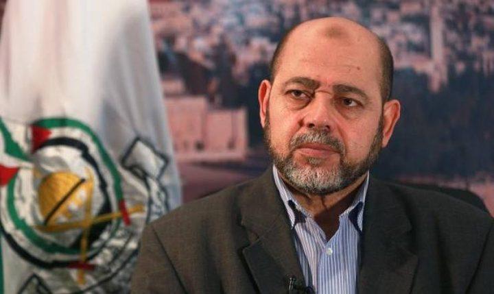 أبو مرزوق: انتخابات حماس لن تغير في سياستها