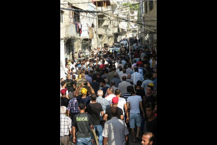احتجاجات في أريحا