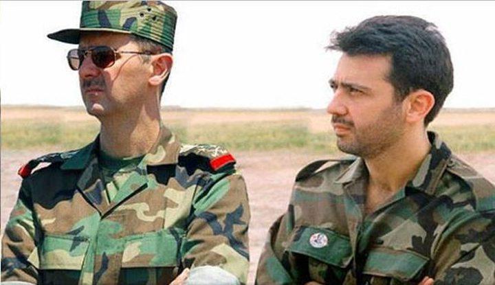 صحيفة: ماهر الأسد زار الأردن والتقى الملك