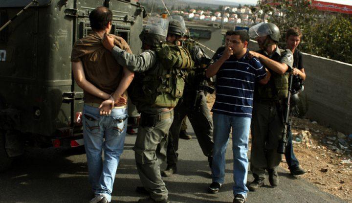 اعتقالات في الضفة (أسماء)