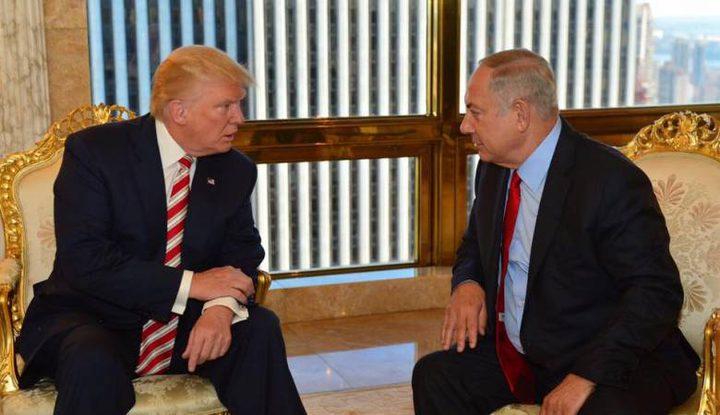 """نتنياهو سينقل لنظيره الامريكي: """"ان دولة فلسطين مضيعة للوقت"""""""