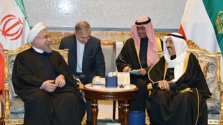 الرئيس الإيراني قدم تطمينات للخليج عبر الكويت