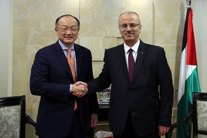 رئيس الوزراء يجتمع مع رئيس البنك الدولي