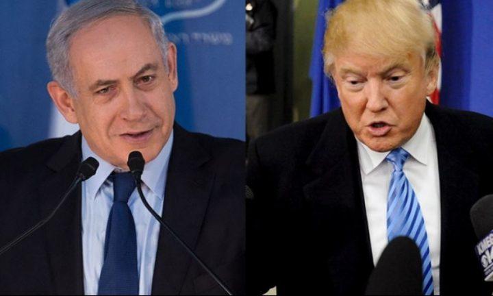 ترامب: ندرس حل الدولتين بما يرضي الطرفين