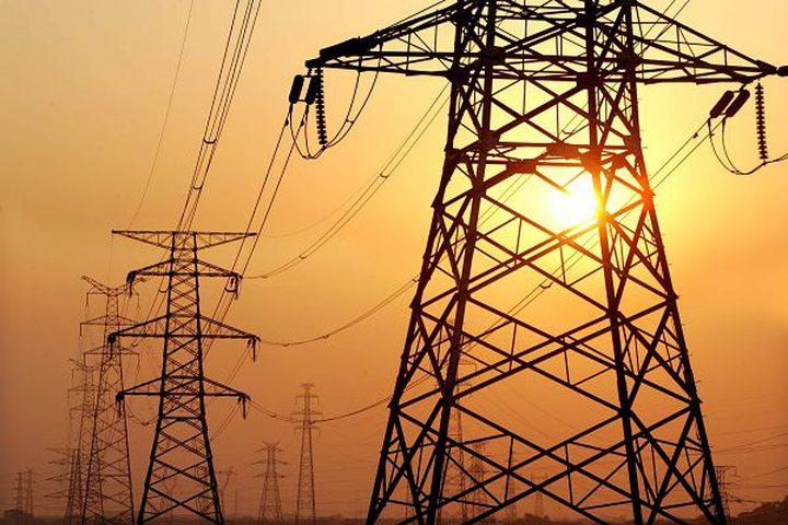 تعطل خط كهرباء رفح