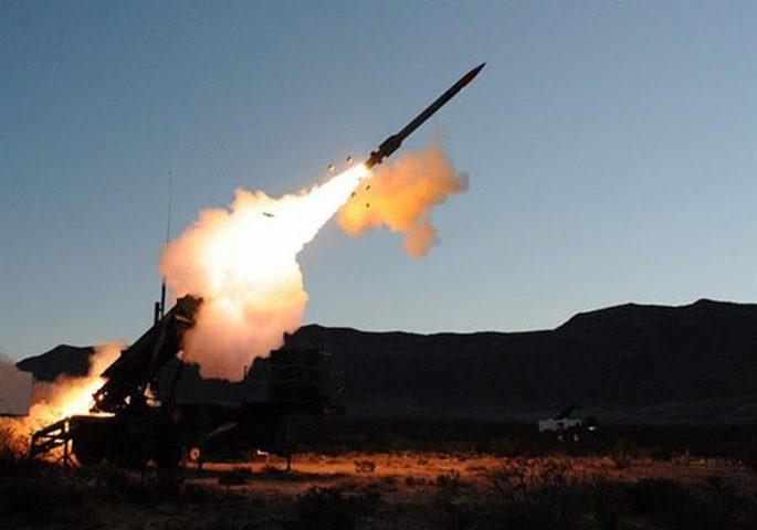 اعتراض صاروخ حوثي باتجاه السعودية