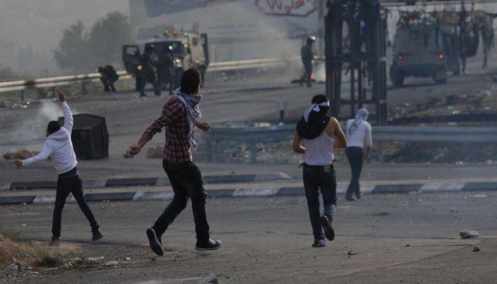 مواجهات مع الاحتلال في تقوع وحوسان
