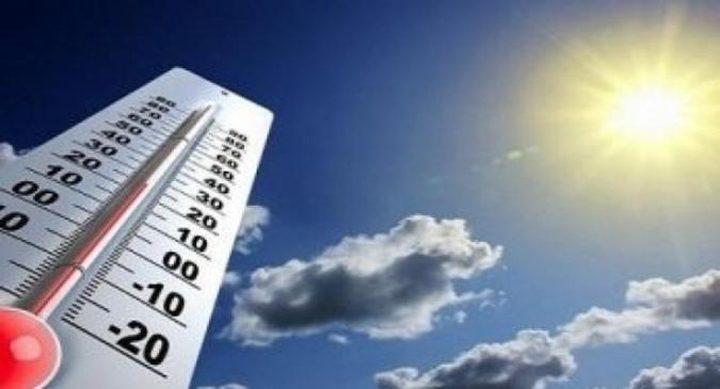 الحرارة تواصل الارتفاع