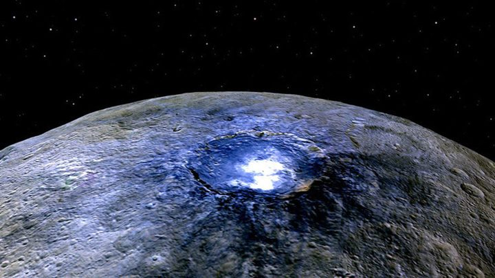 وجود حياة على كوكب سيريس