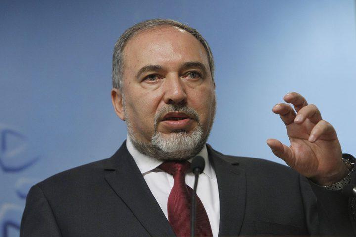 ليبرمان: حل الدولتين يحافظ على الدولة اليهودية