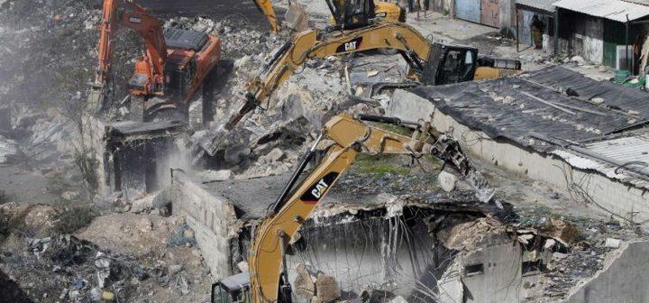 الإحتلال يهدم كرفانا سكنيا شرق القدس