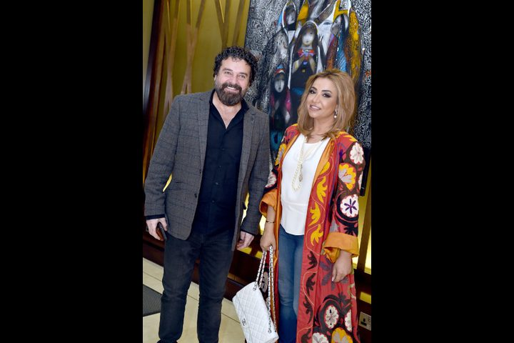 معرض للفنان التشكيلي زهير حسيب في دبي
