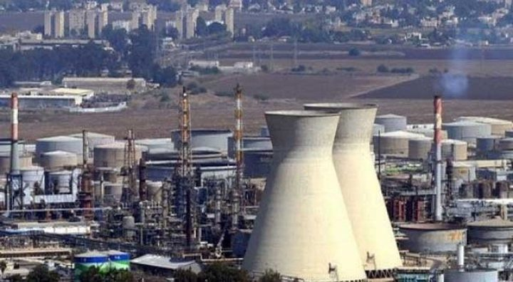 وقف تزويد مصنع الأمونيا في حيفا