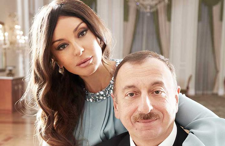 رئيس اذربيجان يعين زوجته نائبة له